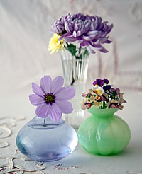 Vintage Flower Vases