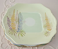 Vintage China Dinner Plates