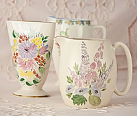 China Flower Jugs