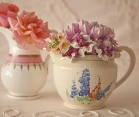China Posy Jugs