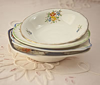 Vintage China Pudding Bowls