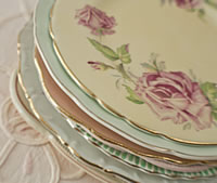 Vintage China Side Plates