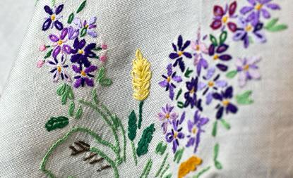 Emboidered Napkin