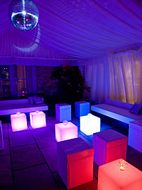 Ibiza Night Club Chill Out Room