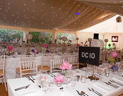 Styling a Wedding Reception
