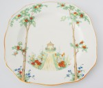 oriental crockery dinner plate