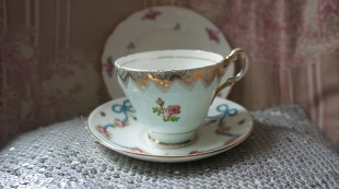  mis match vintage china teacup