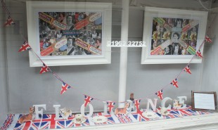 Jubilee window at Elsie Florence
