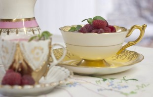 lovely idea, pudding in a teacup