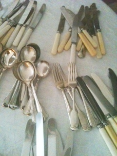 Elsie Florence vintage cutlery