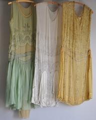 Stunningly beautiful 1920s dresses.