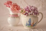 vintage posy jugs by Elsie Florence