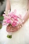 beautiful sweetpea bouquet