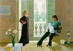 David Hockney's clark-percy