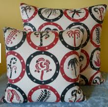 birtwell print cushion