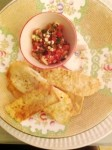 Turkish Salsa with pitta