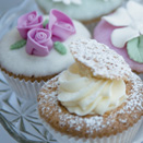 Vintage style cup cakes by lisa notley cakes