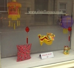 Elsie Florence chinese new year window